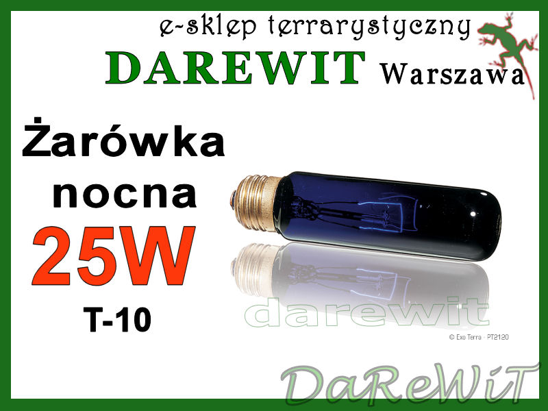 Night Heat 25W T10 Exo Terra - sklep darewit