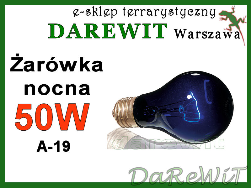Exo Terra Night Heat 50W A19  - sklep darewit