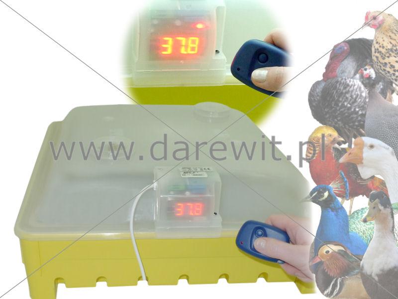 Inkubator elektroniczny sterowany pilotem na podczerwień