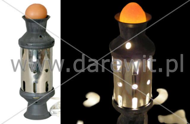 owoskop do przeglądania jaj drobiu, lampa prześwietlająca jajo,  darewit
