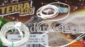 kable silikonowe, przewody grzejne do terrarium