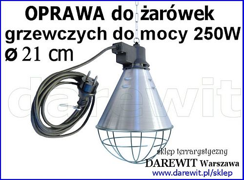 oprawa promiennika, lampa kwoka